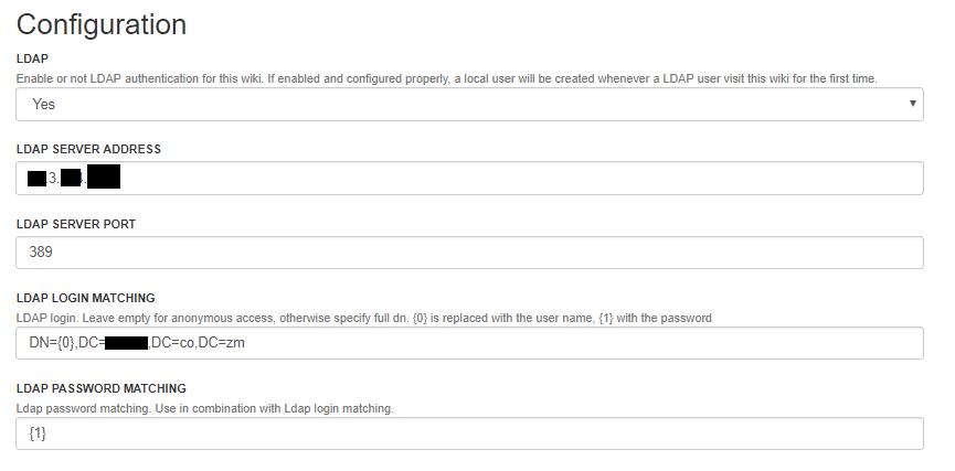 LDAP Configuration Issue - Help / Discuss - XWiki Forum