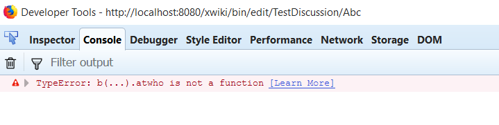 User Mention in CK Editor - Help / Discuss - XWiki Forum